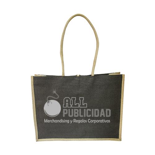 BOLSA YUTE PLASTIFICADO DE 24.5 CM X 45CM X 15 EN ALLPUBLICIDAD