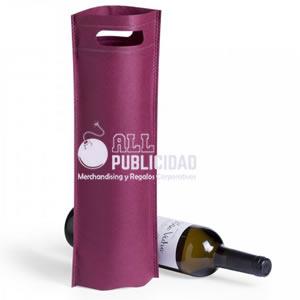 bolsa para botella de tela ecologica en allpublicidad