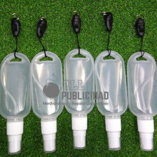 frasco vacio para gel antibacterial de 50ml en allpublicidad