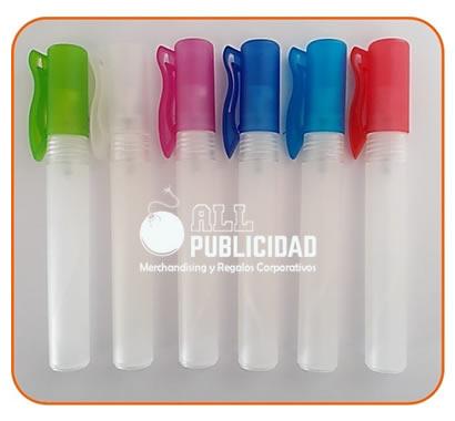 frasco vacio para gel antibacterial en spray de 10ml modelo botella o lapicero en allpublicidad