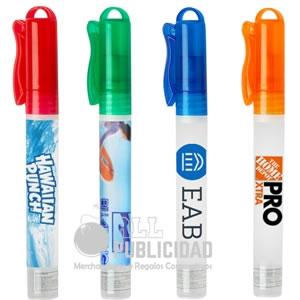 gel antibacterial publicitario en spray en allpublicidad